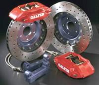 """GALFER kit EVOLUTION Mini One/Cooper/""""S"""" -- od roku výroby 01- / brzdové třmeny 4 pístové, průměr kotouče 330X30mm ( minimální rozměr ráfku 17"""" )"""