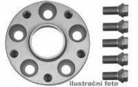 HR podložky pod kola (1pár) MINI Mini R50 rozteč 100mm 4 otvory stř.náboj 56,2mm -šířka 1podložky 25mm /sada obsahuje montážní materiál (šrouby, matice)