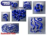 SAMCO Sport kit, silikonové modré sportovní hadice Mini Cooper S ( sada obsahuje 4kusy přesných silikonových hadic pro oběh chladící kapaliny )